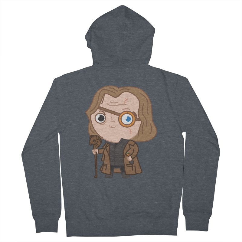 Mad Eye Women's French Terry Zip-Up Hoody by Pepe Rodríguez