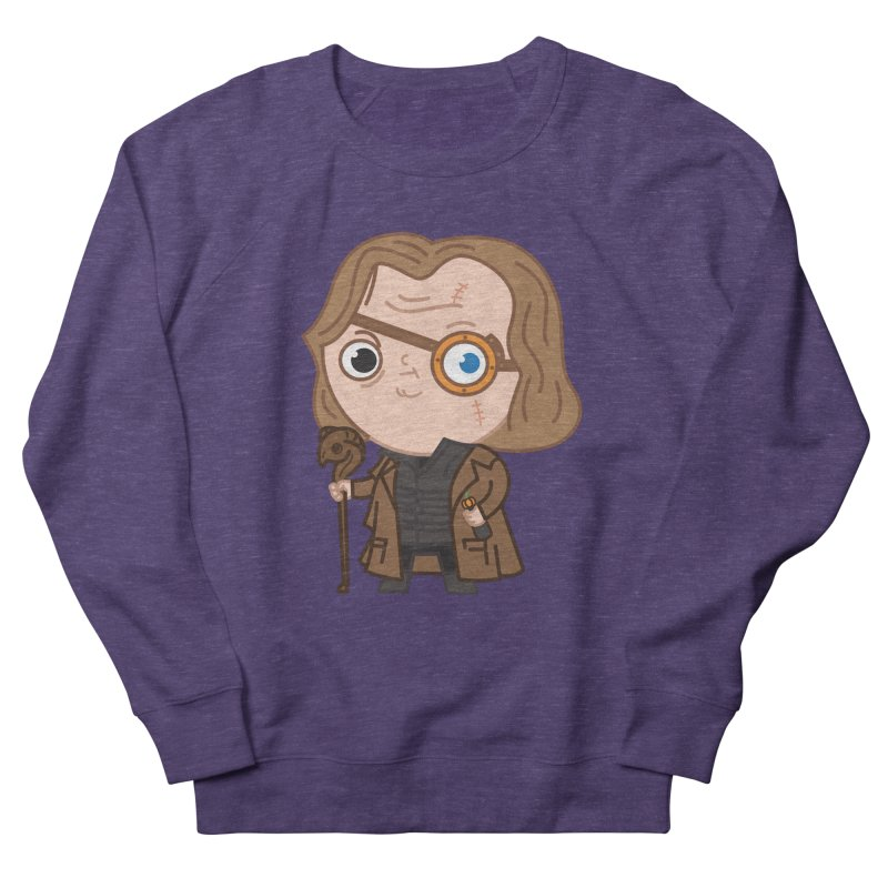 Mad Eye Men's French Terry Sweatshirt by Pepe Rodríguez
