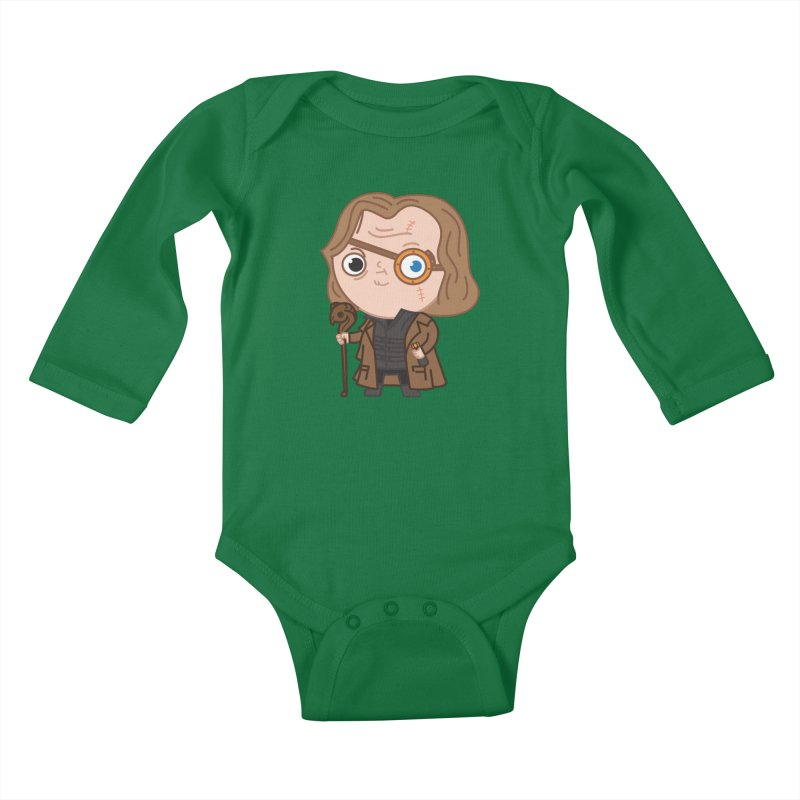 Mad Eye Kids Baby Longsleeve Bodysuit by Pepe Rodríguez