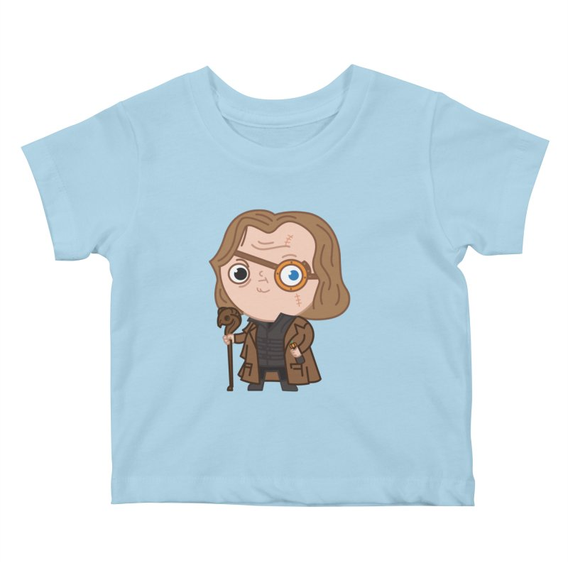 Mad Eye Kids Baby T-Shirt by Pepe Rodríguez