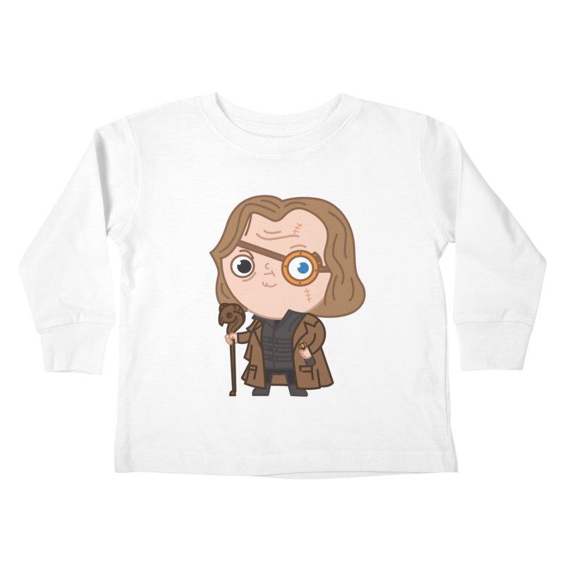 Mad Eye Kids Toddler Longsleeve T-Shirt by Pepe Rodríguez