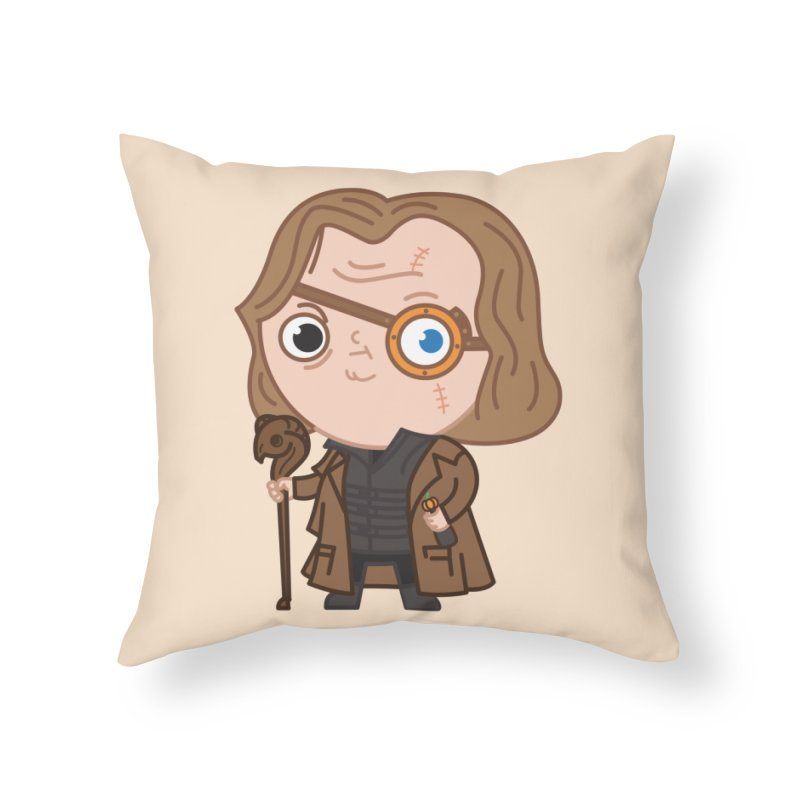 Mad Eye Home Throw Pillow by Pepe Rodríguez
