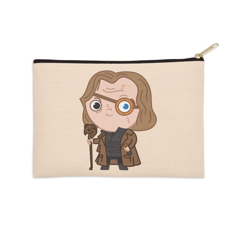 Mad Eye Accessories Zip Pouch by Pepe Rodríguez