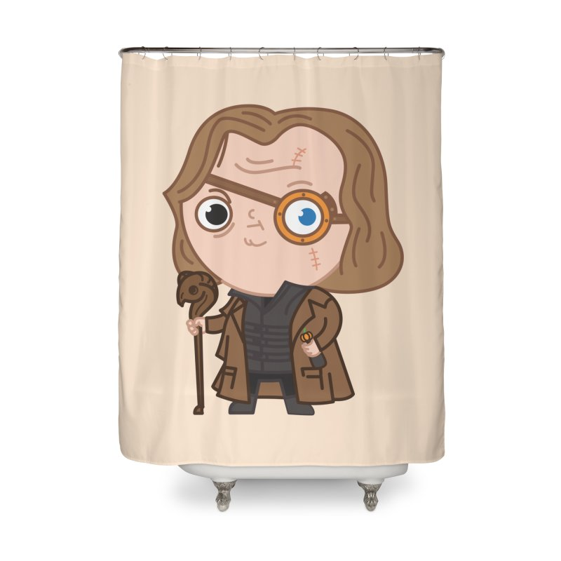 Mad Eye Home Shower Curtain by Pepe Rodríguez