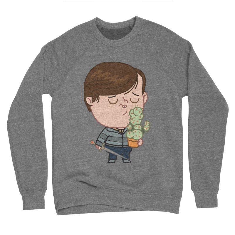 Neville Men's Sponge Fleece Sweatshirt by Pepe Rodríguez