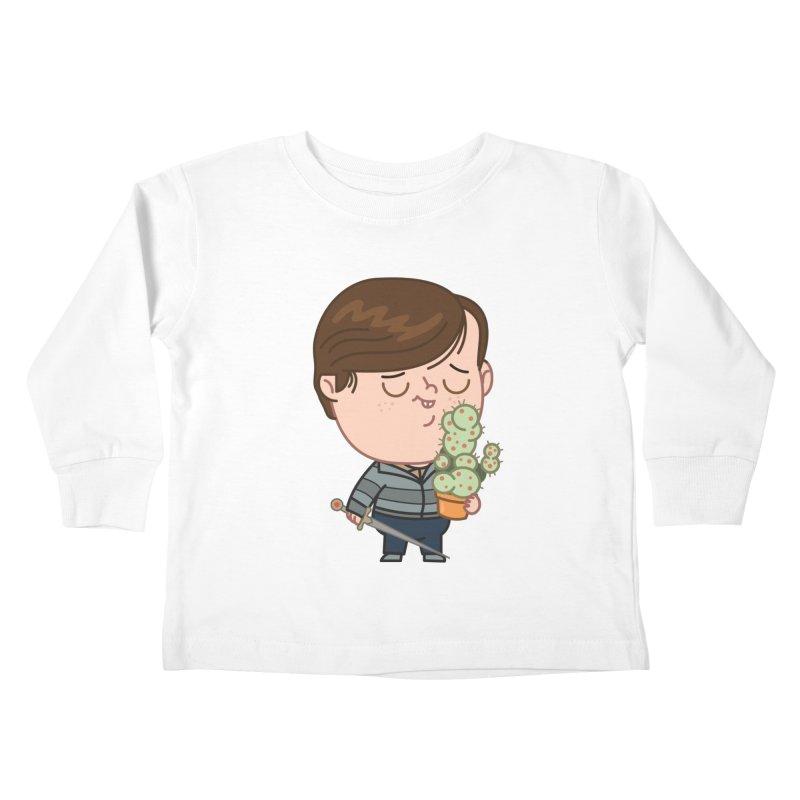 Neville Kids Toddler Longsleeve T-Shirt by Pepe Rodríguez