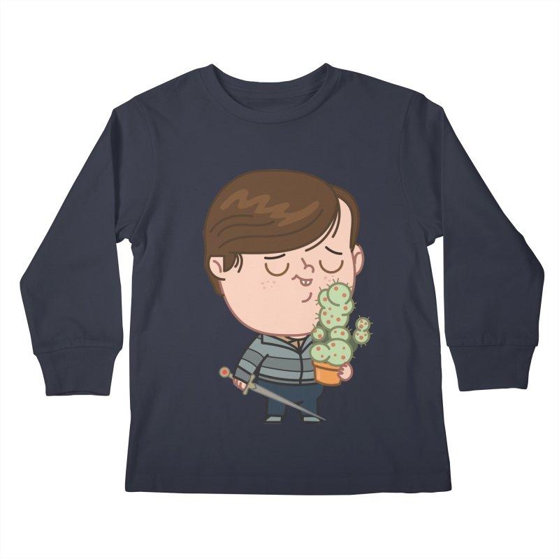 Neville Kids Longsleeve T-Shirt by Pepe Rodríguez