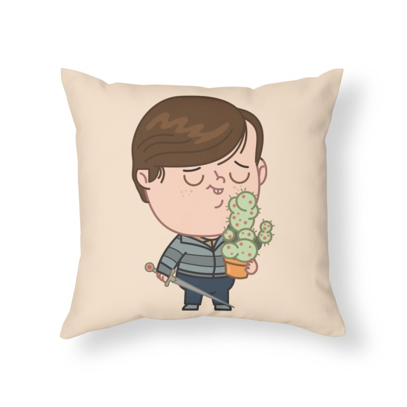 Neville Home Throw Pillow by Pepe Rodríguez