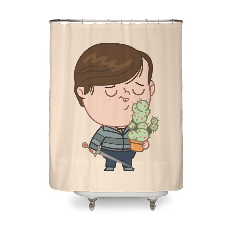 Neville Home Shower Curtain by Pepe Rodríguez