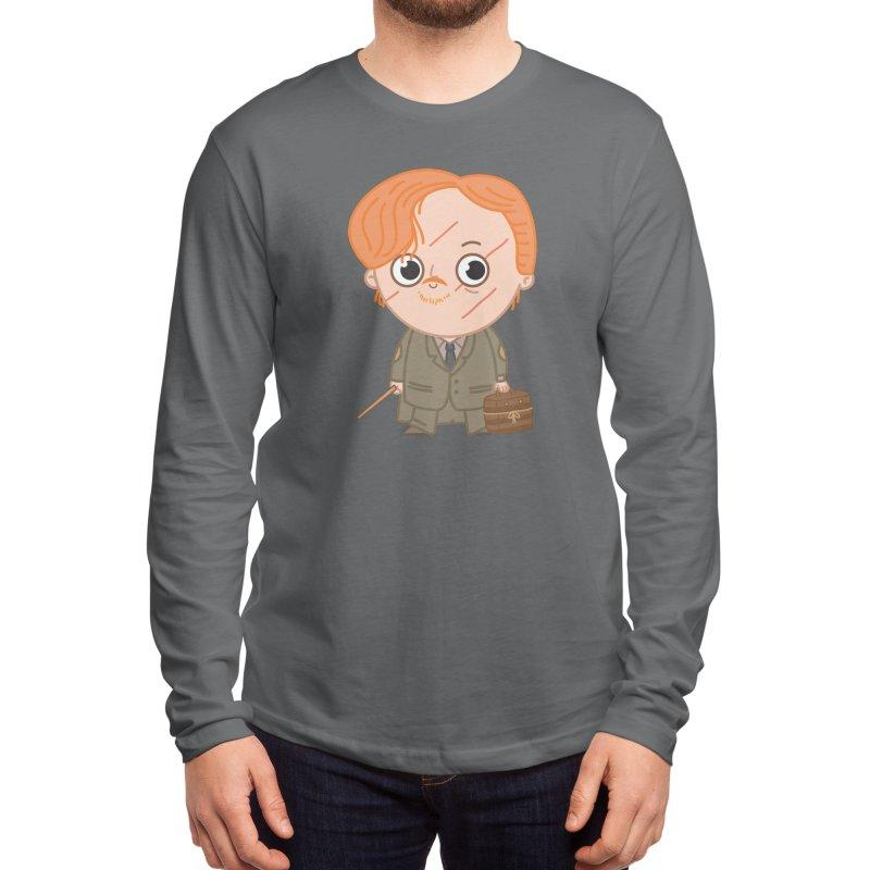 Proffessor Lupin Men's Longsleeve T-Shirt by Pepe Rodríguez