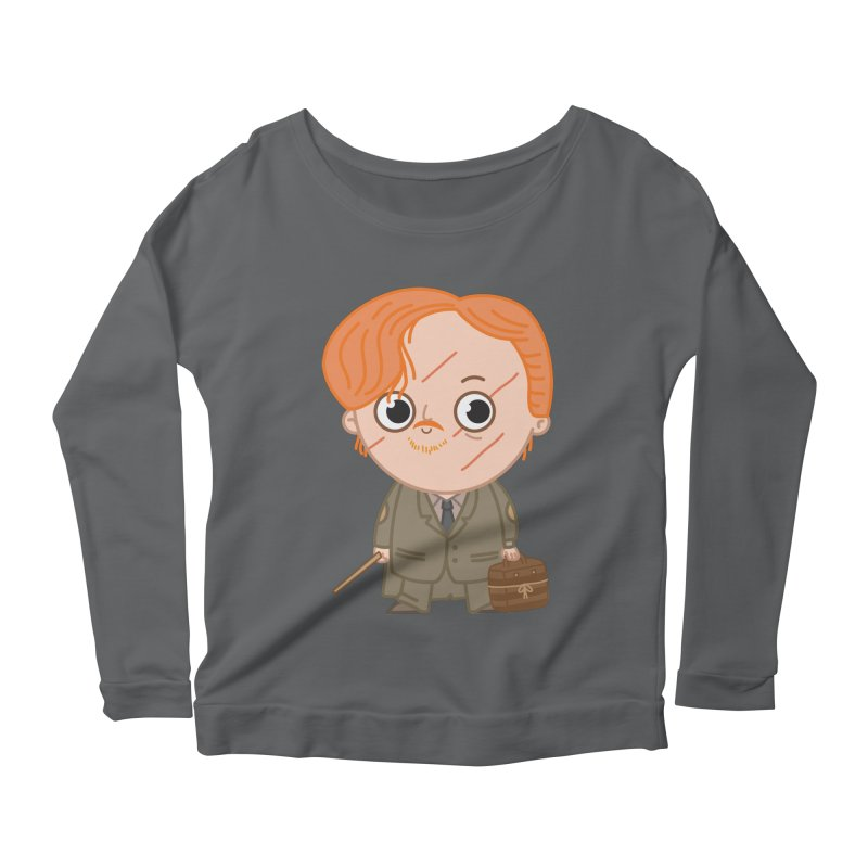 Proffessor Lupin Women's Scoop Neck Longsleeve T-Shirt by Pepe Rodríguez