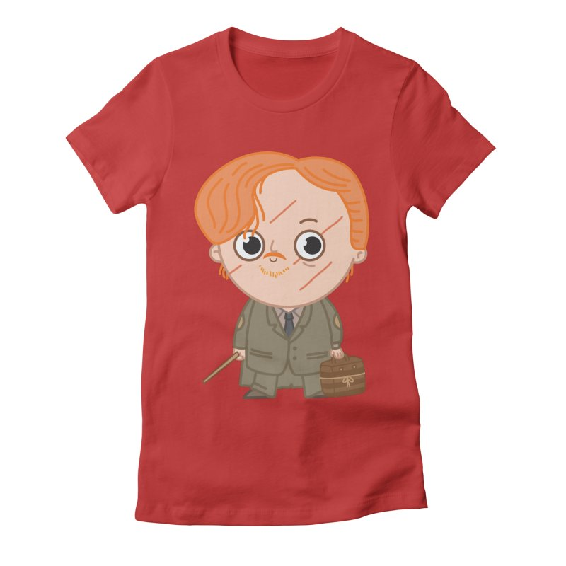 Proffessor Lupin Women's Fitted T-Shirt by Pepe Rodríguez