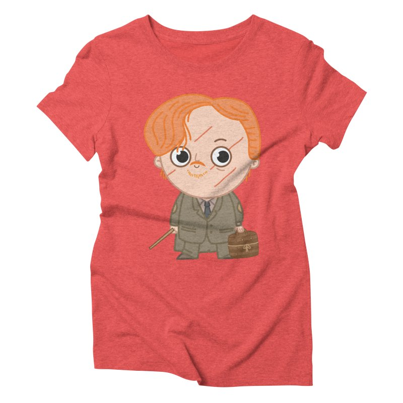 Proffessor Lupin Women's Triblend T-Shirt by Pepe Rodríguez
