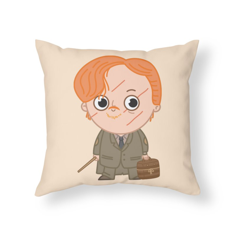 Proffessor Lupin Home Throw Pillow by Pepe Rodríguez