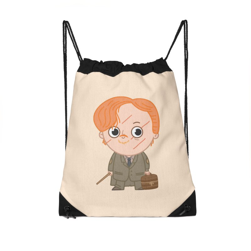 Proffessor Lupin Accessories Drawstring Bag Bag by Pepe Rodríguez