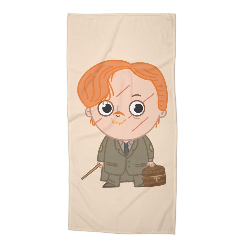 Proffessor Lupin Accessories Beach Towel by Pepe Rodríguez