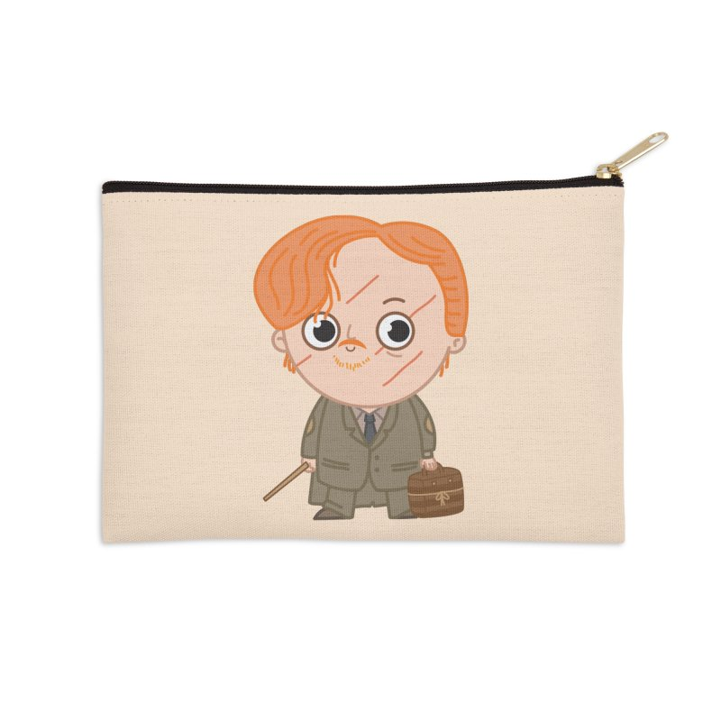 Proffessor Lupin Accessories Zip Pouch by Pepe Rodríguez