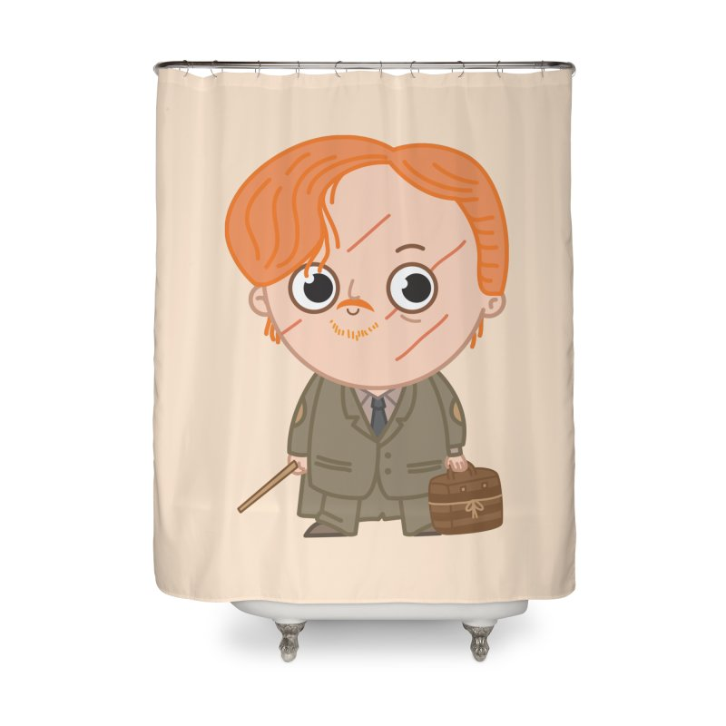 Proffessor Lupin Home Shower Curtain by Pepe Rodríguez