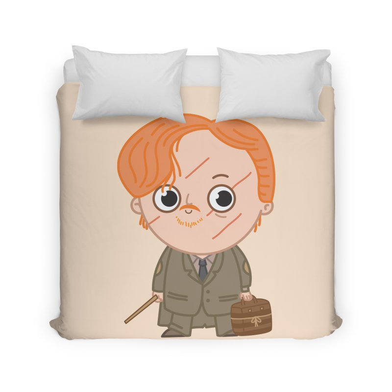 Proffessor Lupin Home Duvet by Pepe Rodríguez