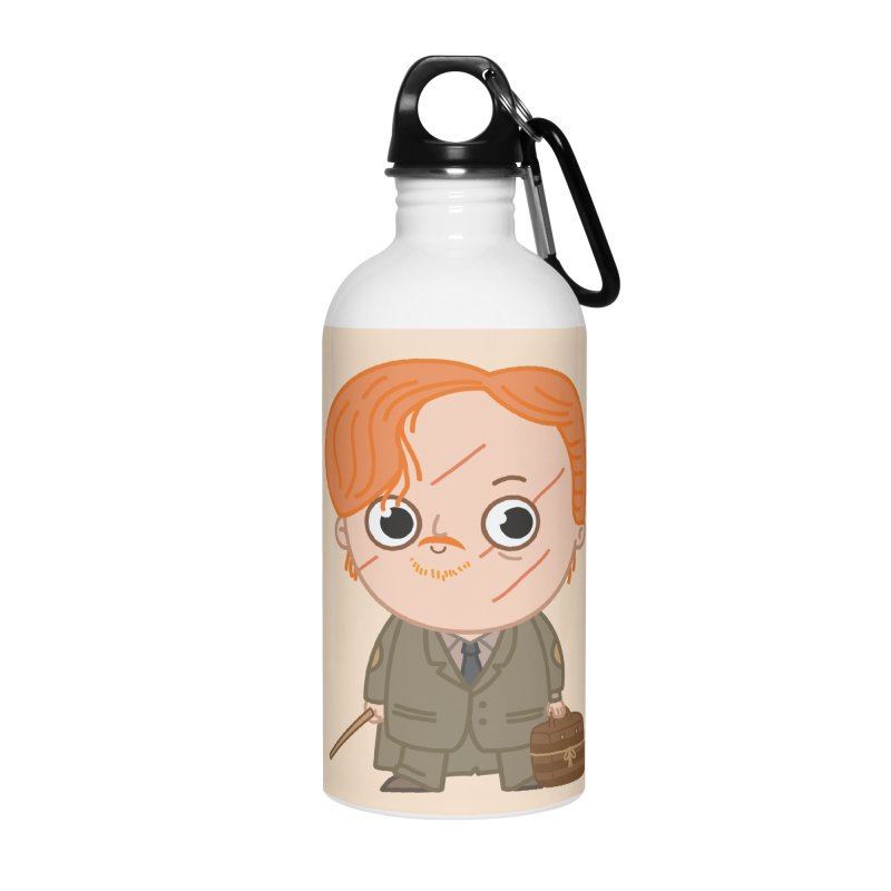 Proffessor Lupin Accessories Water Bottle by Pepe Rodríguez