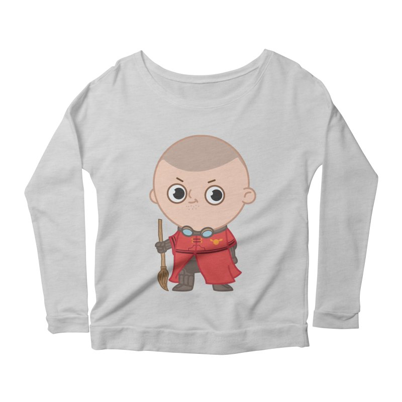 Krum Women's Scoop Neck Longsleeve T-Shirt by Pepe Rodríguez
