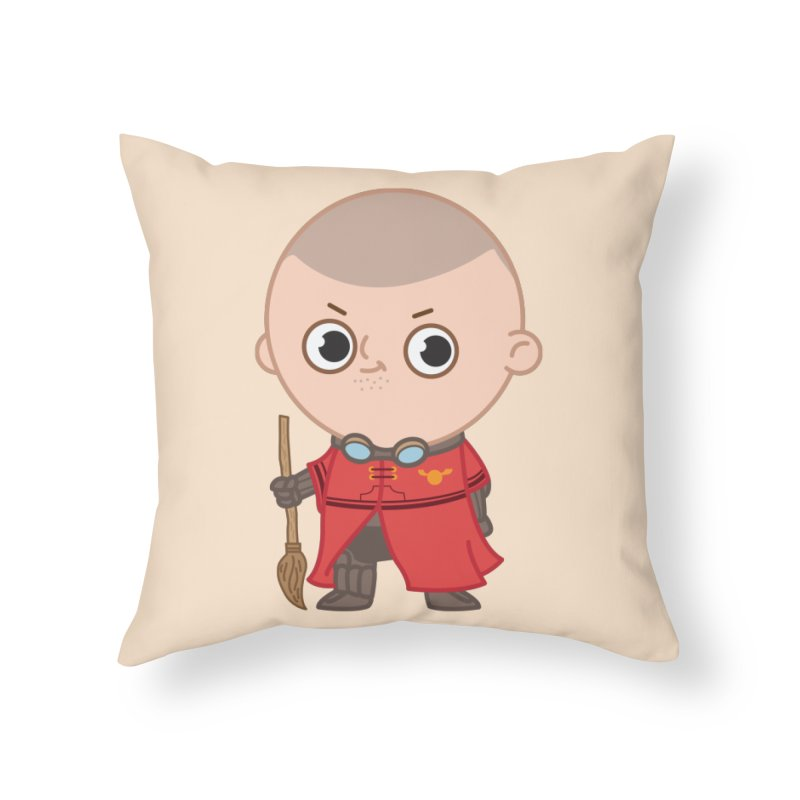 Krum Home Throw Pillow by Pepe Rodríguez