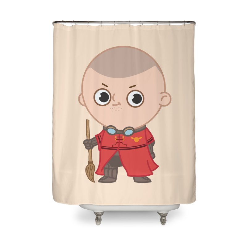 Krum Home Shower Curtain by Pepe Rodríguez