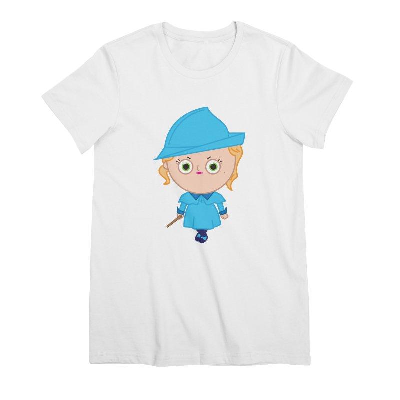 Fleur Women's Premium T-Shirt by Pepe Rodríguez