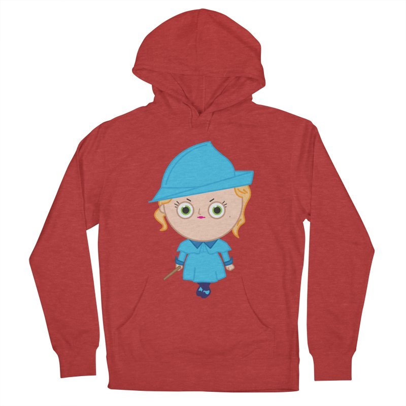 Fleur Women's French Terry Pullover Hoody by Pepe Rodríguez