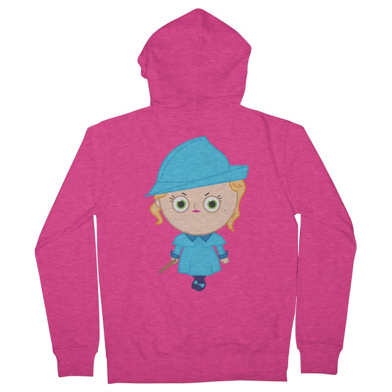 Fleur Women's French Terry Zip-Up Hoody by Pepe Rodríguez