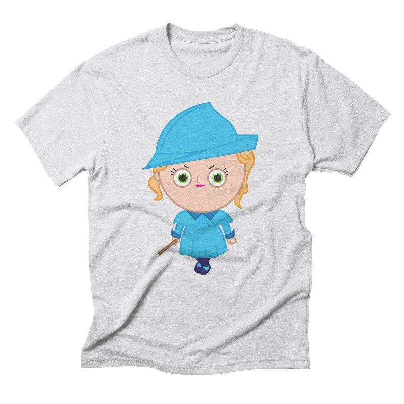 Fleur Men's Triblend T-Shirt by Pepe Rodríguez