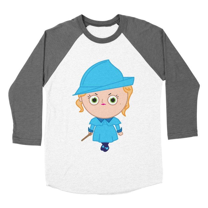 Fleur Women's Baseball Triblend Longsleeve T-Shirt by Pepe Rodríguez