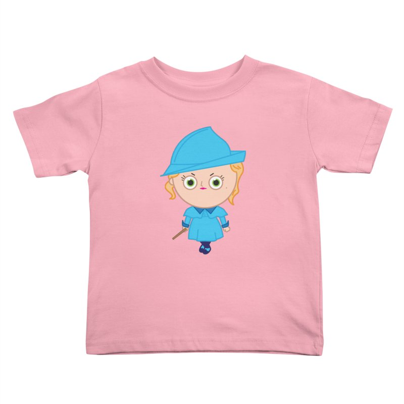 Fleur Kids Toddler T-Shirt by Pepe Rodríguez