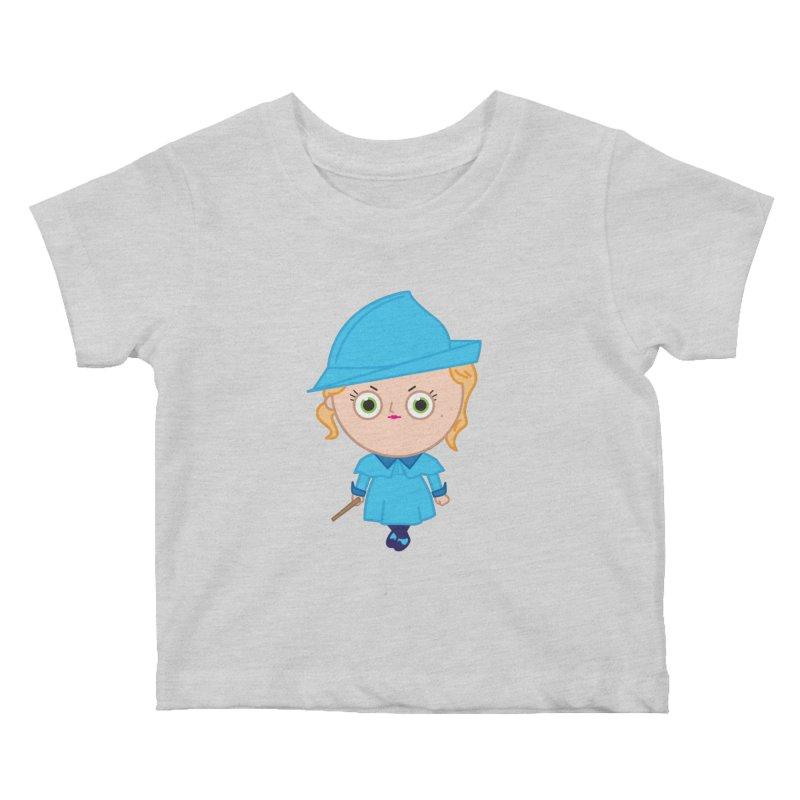 Fleur Kids Baby T-Shirt by Pepe Rodríguez