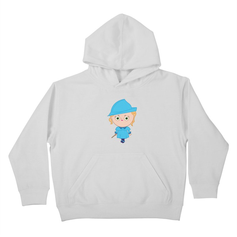 Fleur Kids Pullover Hoody by Pepe Rodríguez