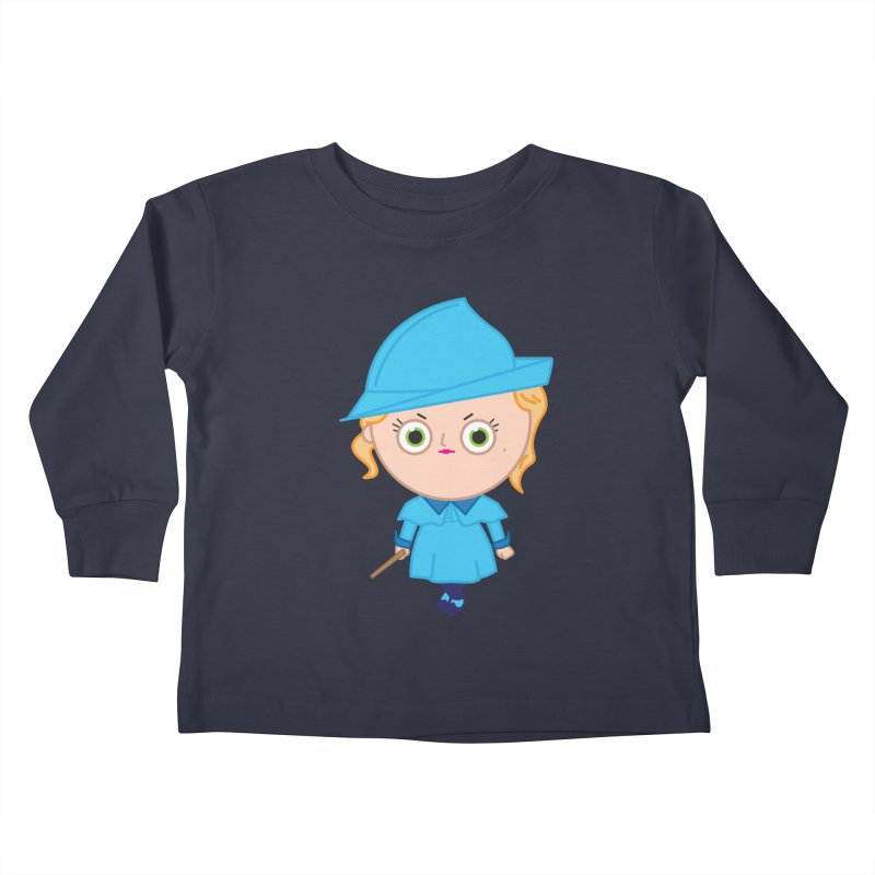 Fleur Kids Toddler Longsleeve T-Shirt by Pepe Rodríguez