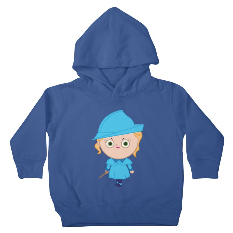 Fleur Kids Toddler Pullover Hoody by Pepe Rodríguez