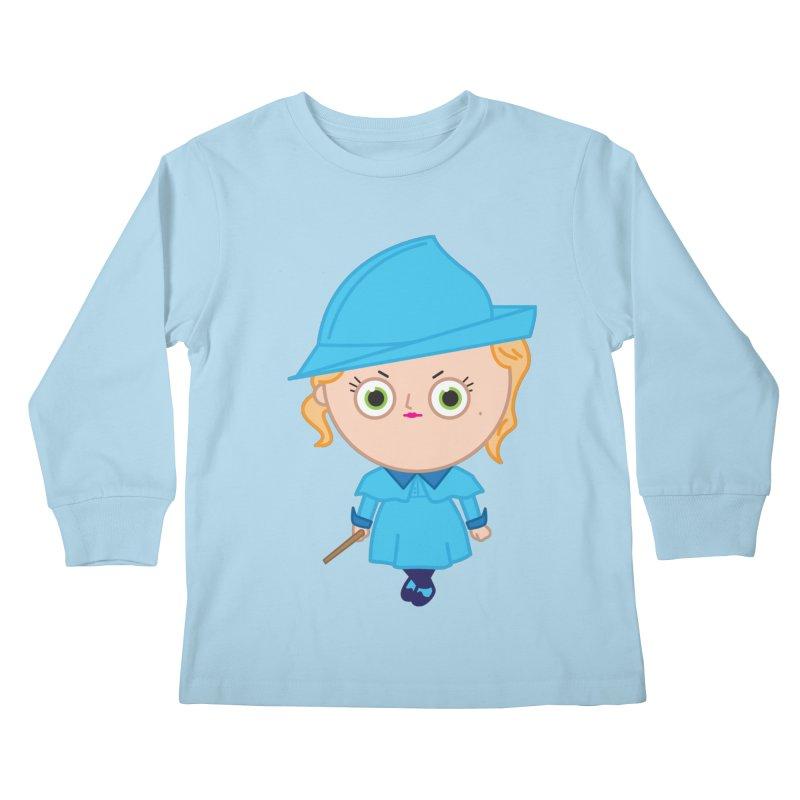 Fleur Kids Longsleeve T-Shirt by Pepe Rodríguez