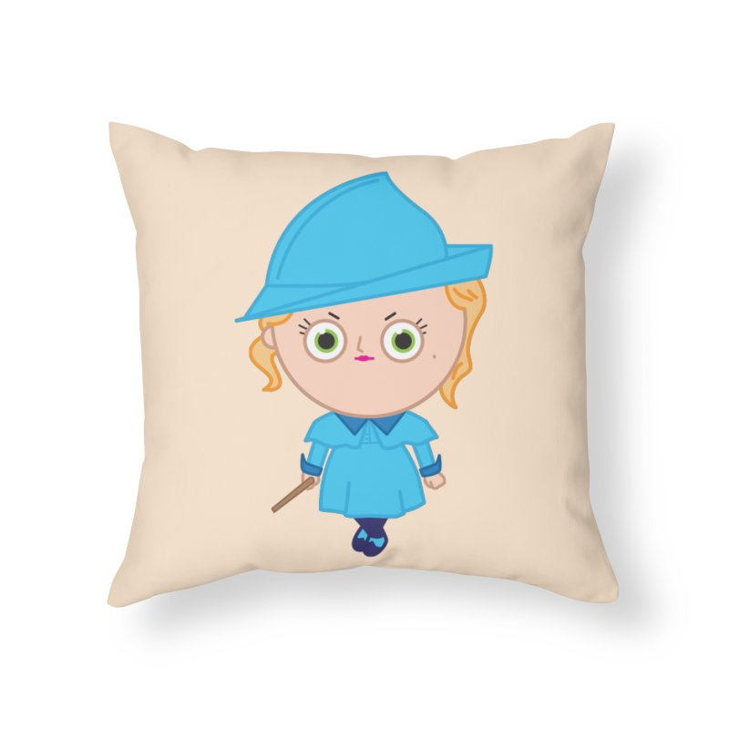 Fleur Home Throw Pillow by Pepe Rodríguez