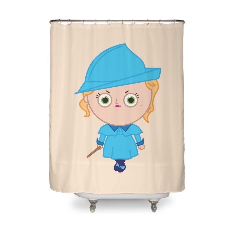 Fleur Home Shower Curtain by Pepe Rodríguez