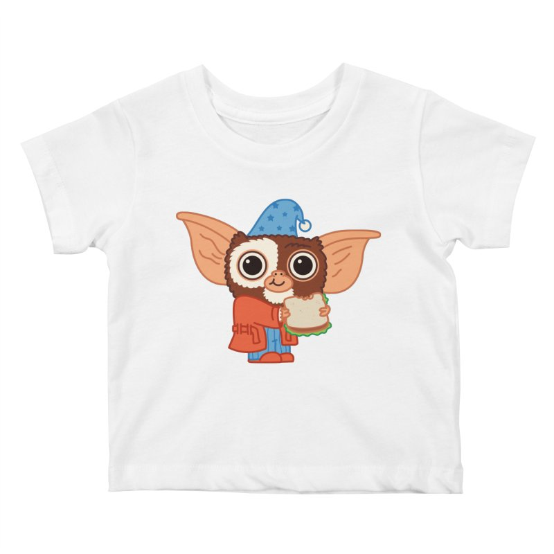 Midnight Snack Kids Baby T-Shirt by Pepe Rodríguez