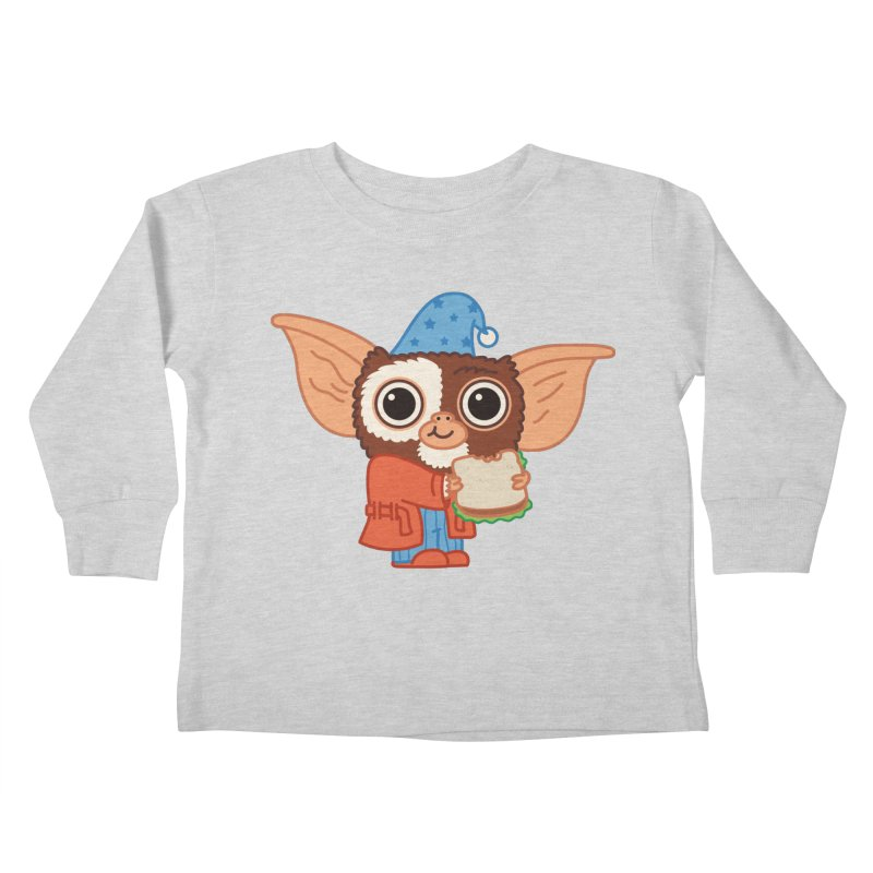 Midnight Snack Kids Toddler Longsleeve T-Shirt by Pepe Rodríguez