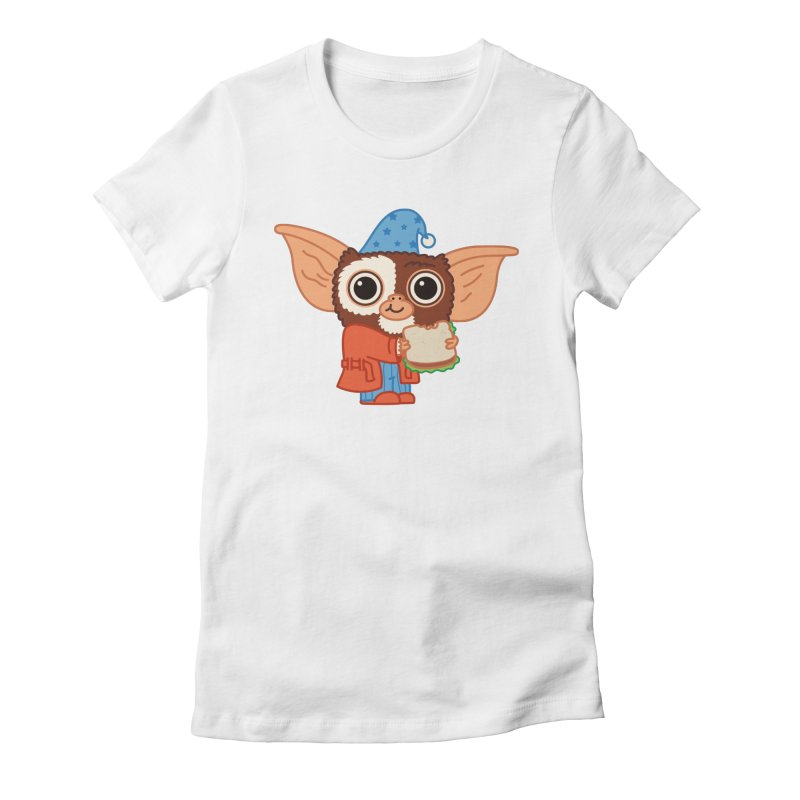 Midnight Snack Women's Fitted T-Shirt by Pepe Rodríguez