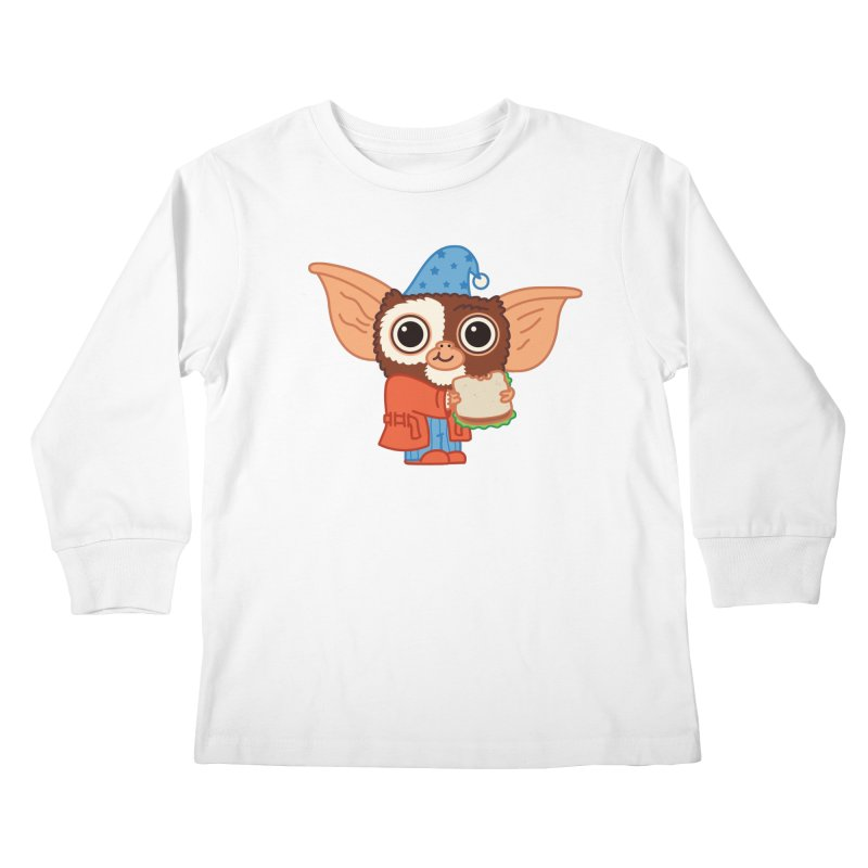 Midnight Snack Kids Longsleeve T-Shirt by Pepe Rodríguez