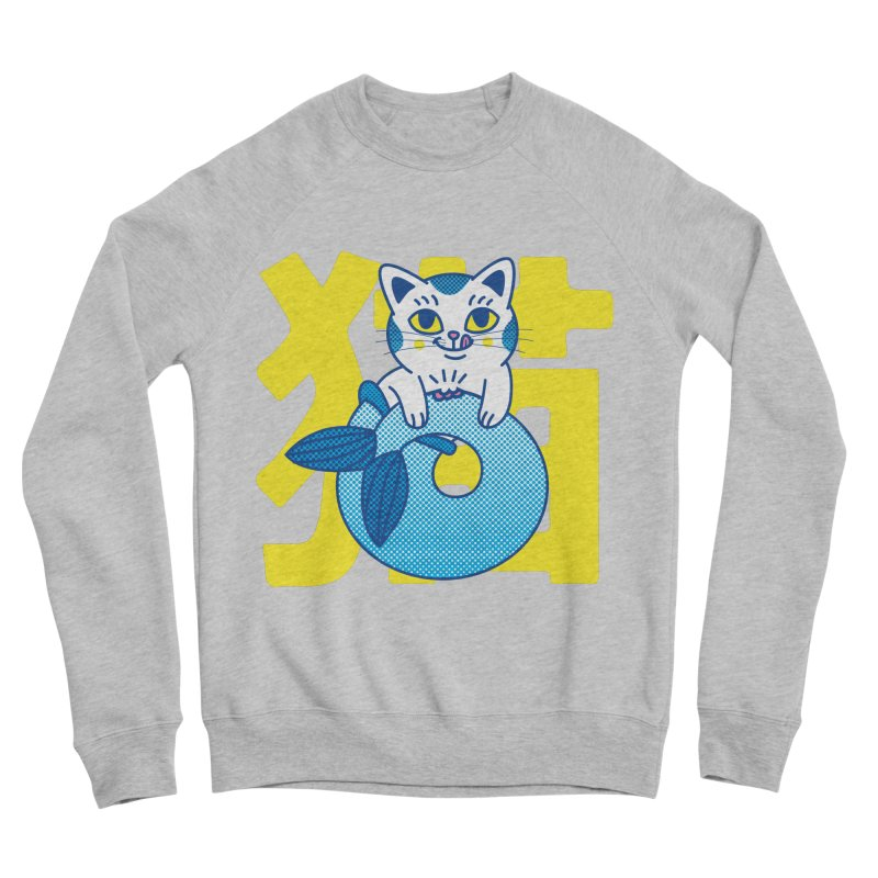 Catfish Men's Sponge Fleece Sweatshirt by Pepe Rodríguez