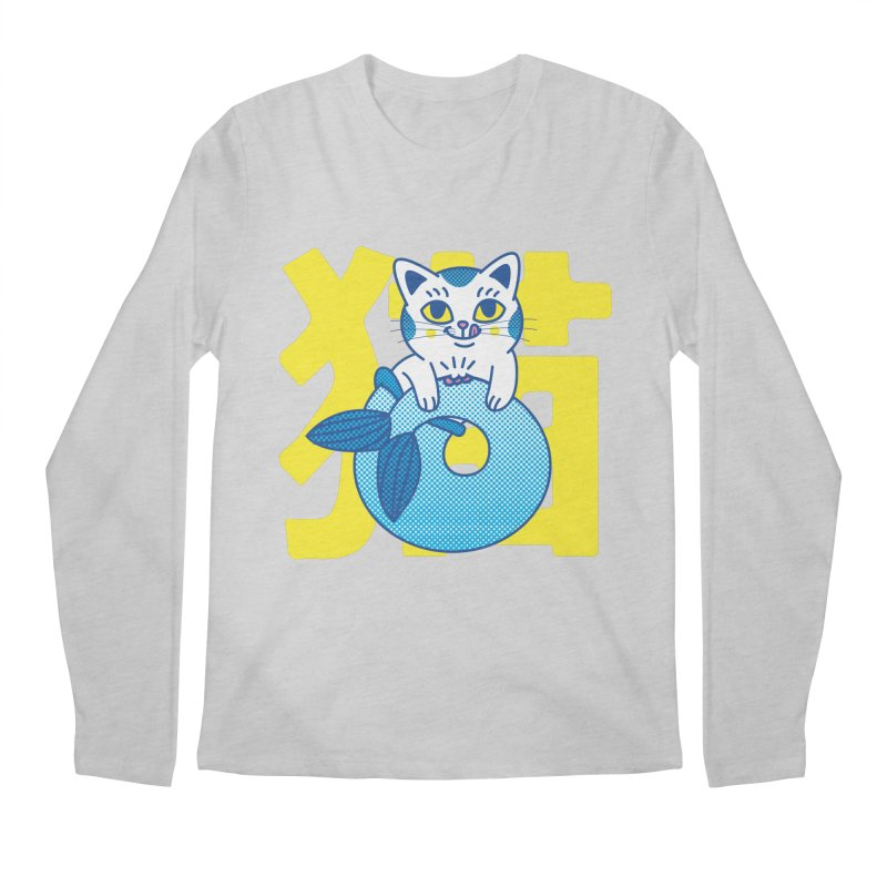 Catfish Men's Regular Longsleeve T-Shirt by Pepe Rodríguez