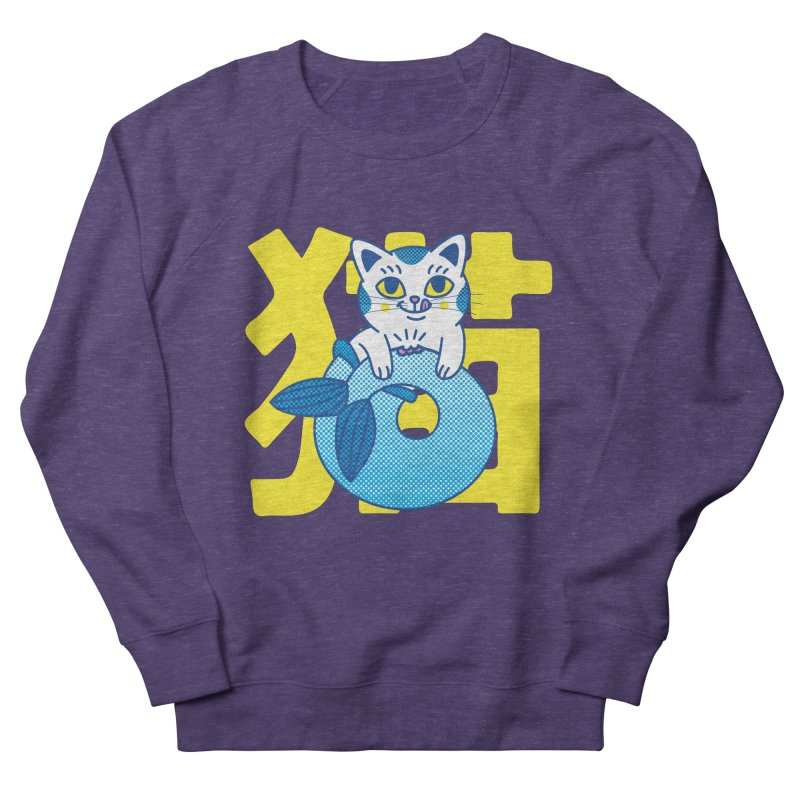 Catfish Men's French Terry Sweatshirt by Pepe Rodríguez