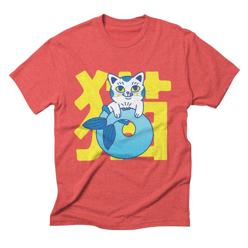 Catfish Men's Triblend T-Shirt by Pepe Rodríguez