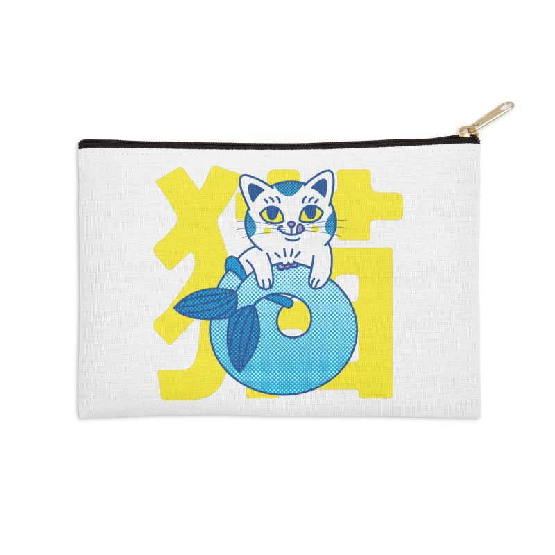 Catfish Accessories Zip Pouch by Pepe Rodríguez