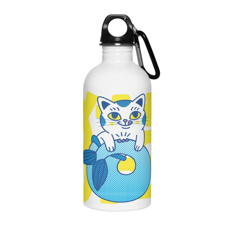 Catfish Accessories Water Bottle by Pepe Rodríguez